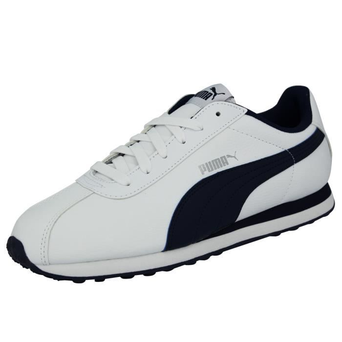 Homme Chaussures Turin Blanc Achat Mode Sneakers Puma UABZqIx