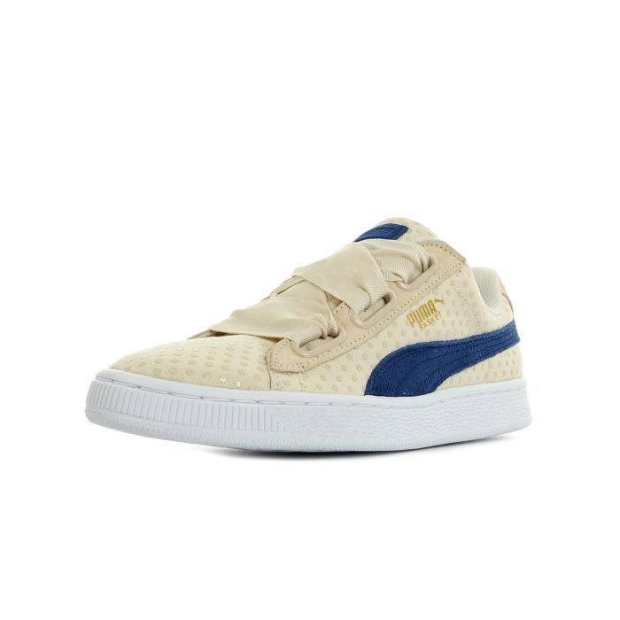 wholesale dealer 9744d 55d10 Baskets Puma Basket Heart Denim