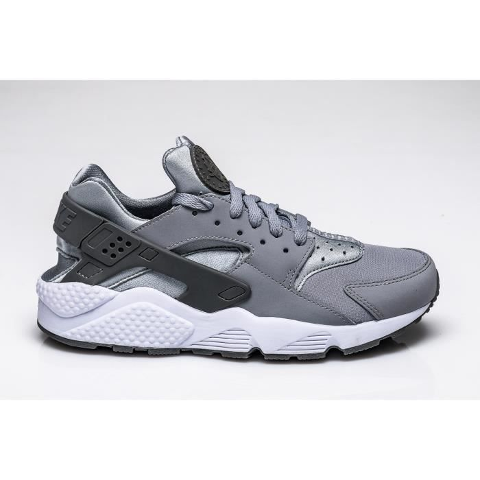 half off really comfortable best sneakers Basket Nike AIR HUARACHE, Modèle 318429 033 Gris.