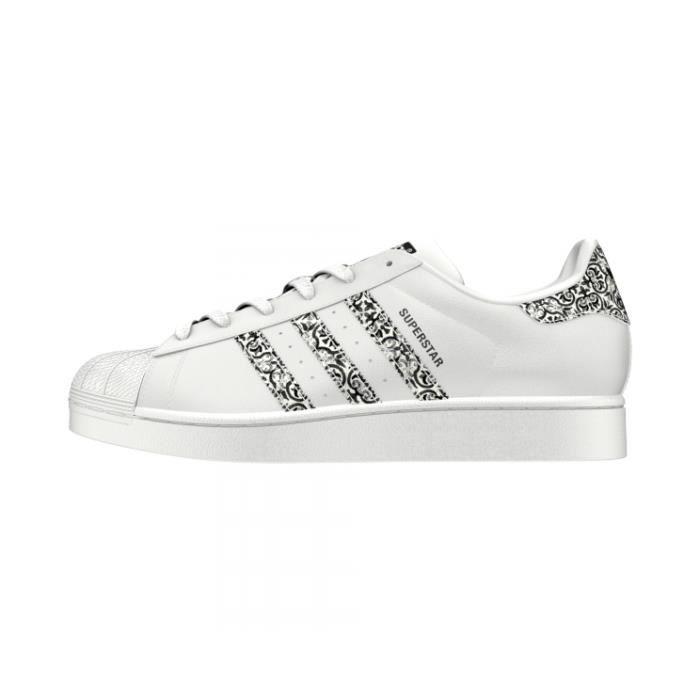 Basket ADIDAS SUPERSTAR W - Age - ADULTE, Couleur - BLANC, Genre - FEMME