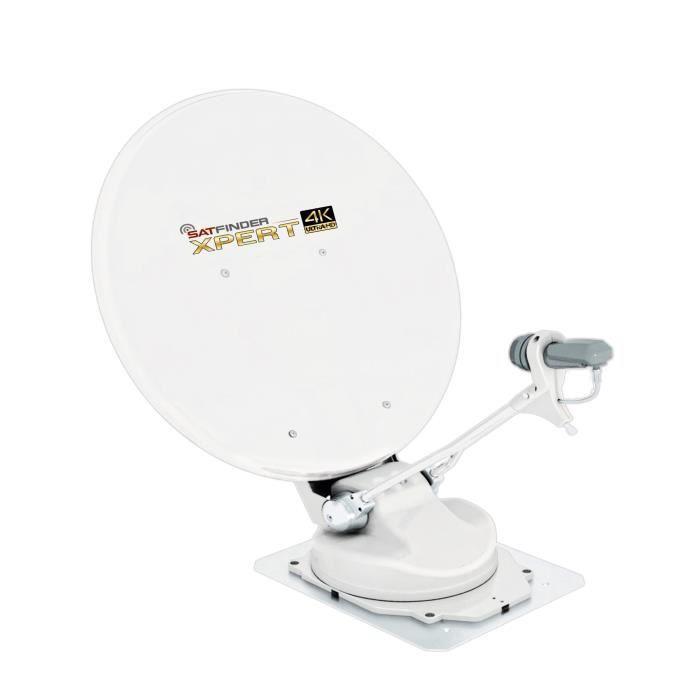 SATFINDER Antenne Satellite Automatique UltraHD 4K Xpert 65 - Camping Car -  antenne rateau, avis et prix pas cher - Cdiscount