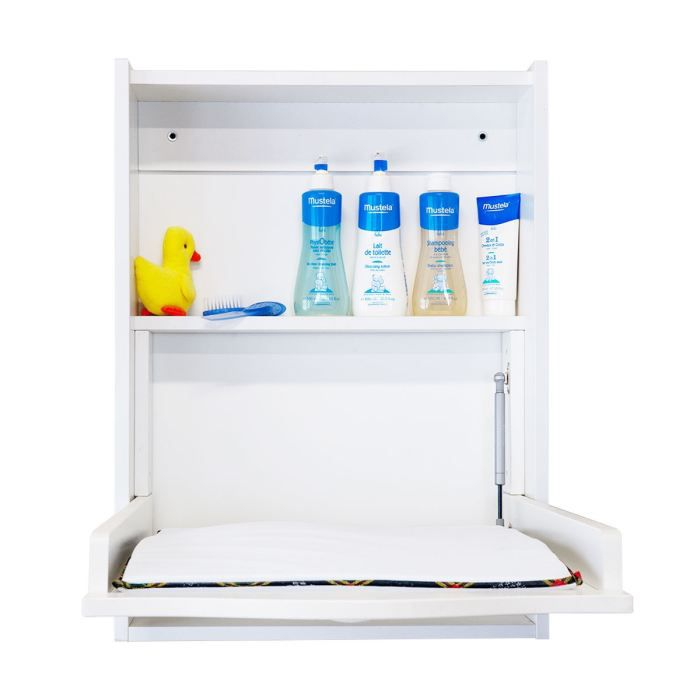 quax table a langer murale blanc blanc achat vente. Black Bedroom Furniture Sets. Home Design Ideas
