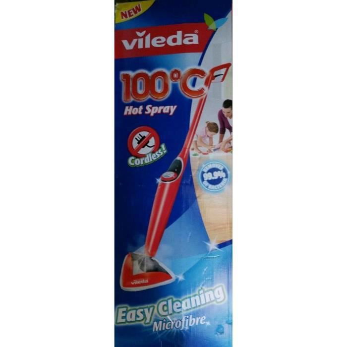 Balai hot spray vileda avis
