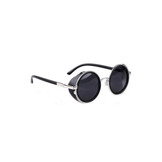 Noir Classique Lunettes de soleil homme femme 80 S Chaussures Femme Rétro Vintage Fashion UV400 Nr1