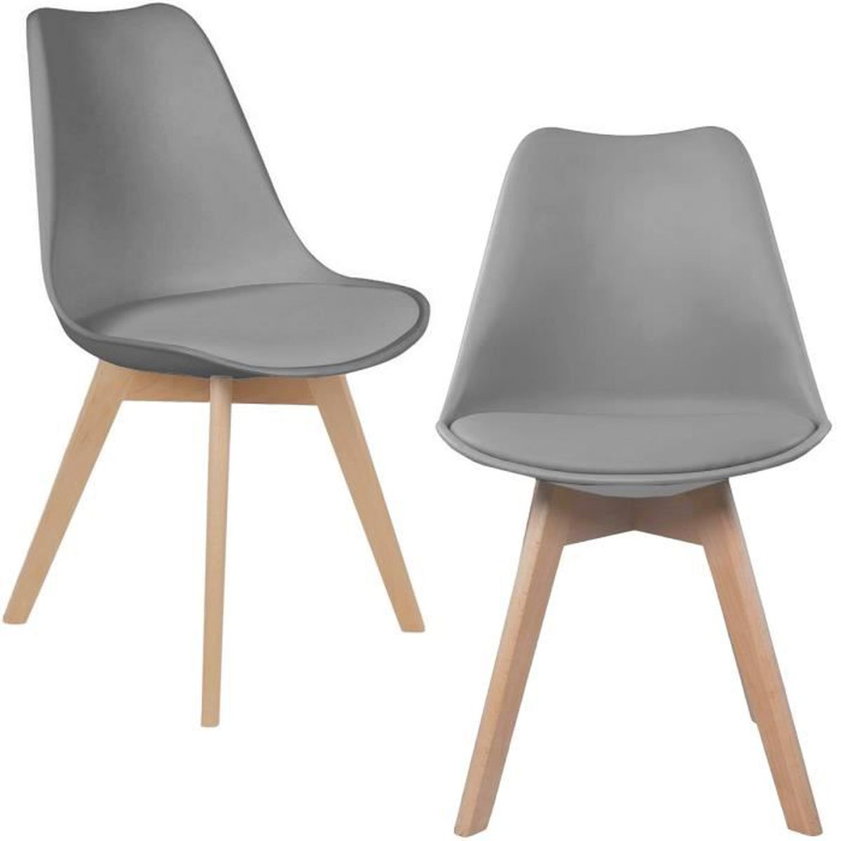 Ensemble chaises scandinave achat vente ensemble for Chaise scandinave pas cher