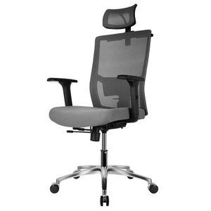 CHAISE DE BUREAU FIXKIT Chaise Bureau Ergonomique,Rotation à 360 °,