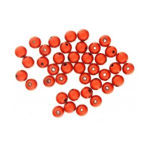 100 x 8 mm ou 6 mm Brillant Acrylique Rond Mixte Couleur Vive Lustre Perles