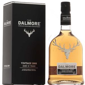 WHISKY BOURBON SCOTCH Dalmore 2008 46