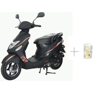 SCOOTER Scooter GTR-B 50cc 4T noir + IMMATRICULATION