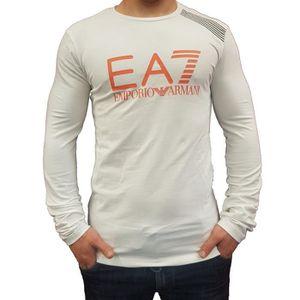 EA7 Train Visibilité T-shirt sans manches blanc