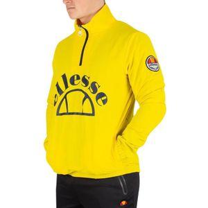 DOUDOUNE DE SPORT Ellesse Homme Junio Overhead Jacket, Jaune taille