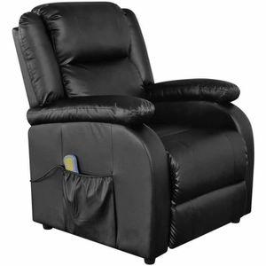 FAUTEUIL Fauteuil de massage électrique Cuir synthétique Ch