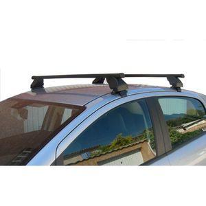 Barres de toit pour Touareg 5P sans rails de 2010 /à 2013 noires 150 cm