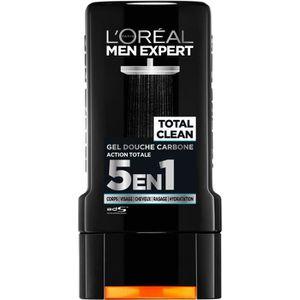 GEL - CRÈME DOUCHE L'Oréal Men Expert Total Clean Gel Douche 5 En 1 P