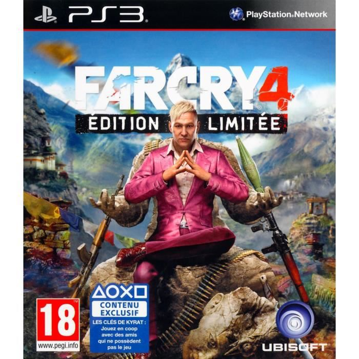 JEU PS3 Far Cry 4 Limited Jeu PS3