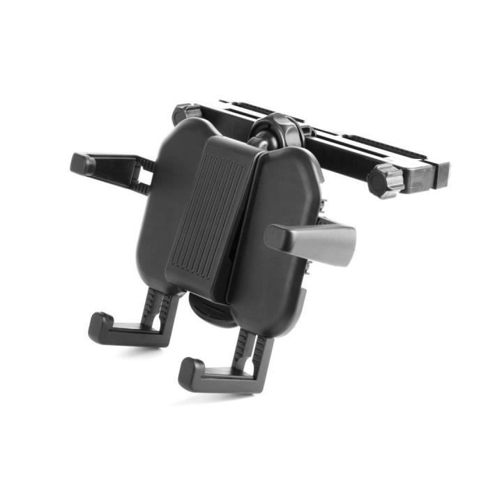 Duragadget Support réglable d'appui tête voiture pour lecteurs DVD portables Takara DIV 109 9 pouces, Takara 1 Combi écran & Taka