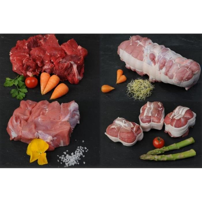 Colis eco environ 8 kg de viande