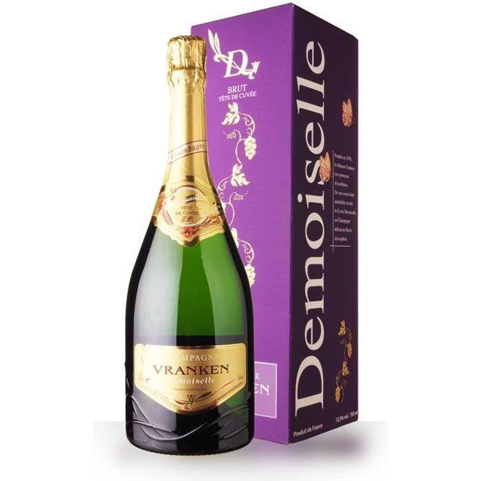 Demoiselles Tête de Cuvée Brut - Etui - 75cl - Champagne