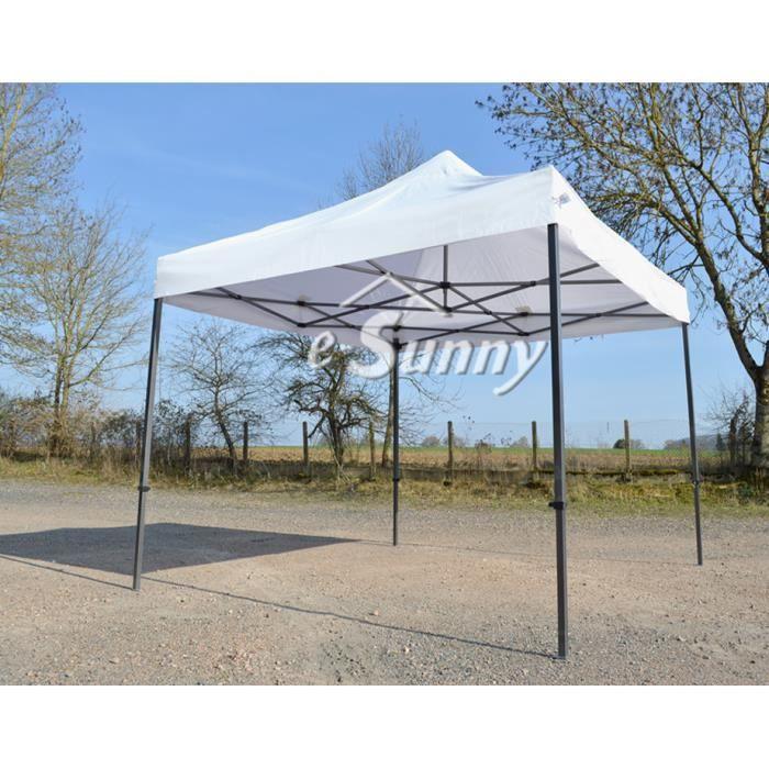 Barnum Pliant 3x3m Blanc - Tente Pliante semi Pro