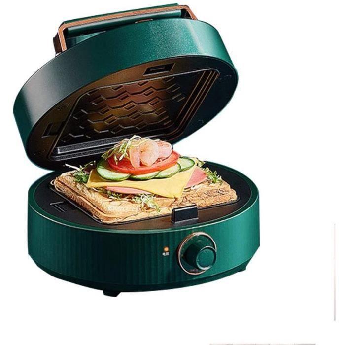 TOASTER HGTRSDE Machine agrave Petitdeacutejeuner 3 en 1 Mini GrillePain Chauffage Rapide tregraves approprieacute pour la Cuis1145
