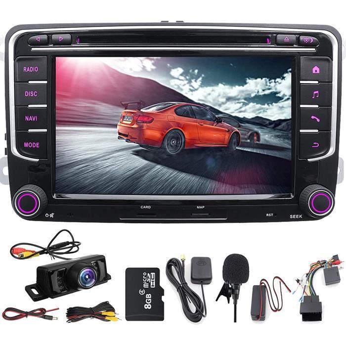 GPS Double DIN 7 pouces lecteur DVD navigation GPS USB-SD FM AM RDS autoradio Bluetooth autoradio pour VW Golf 5 6 Polo Jetta[294]