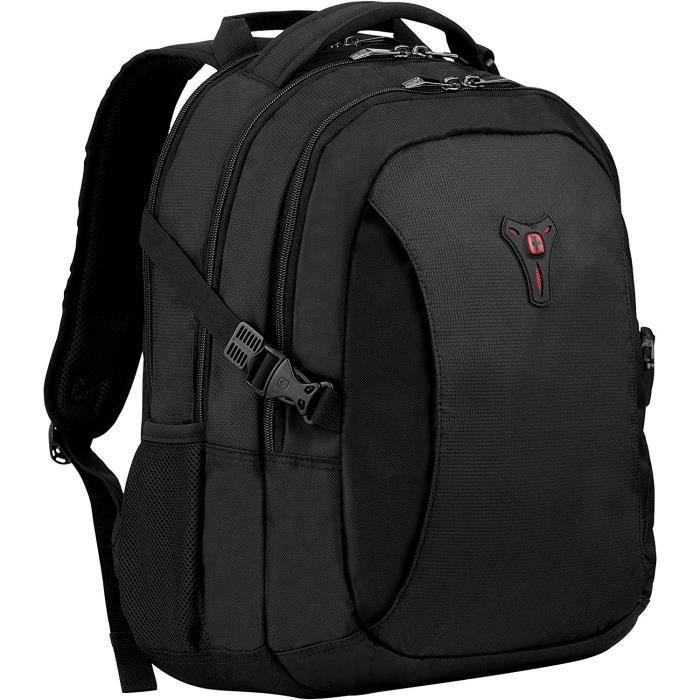 Sacs à dos pour ordinateur portable Wenger 601468 16- Sidebar de luxe pour ordinateur portable Sac à dos avec poche Tabl 42334