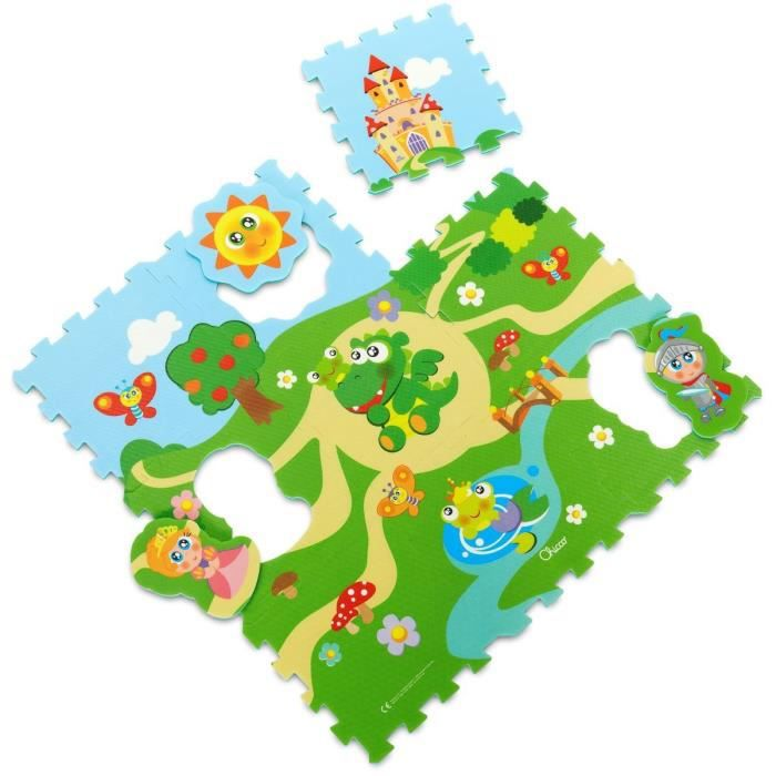 CHICCO Tapis puzzle Château - 12 mois