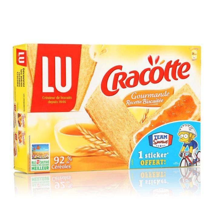 Tartine biscuitée aux céréales 250g Cracotte
