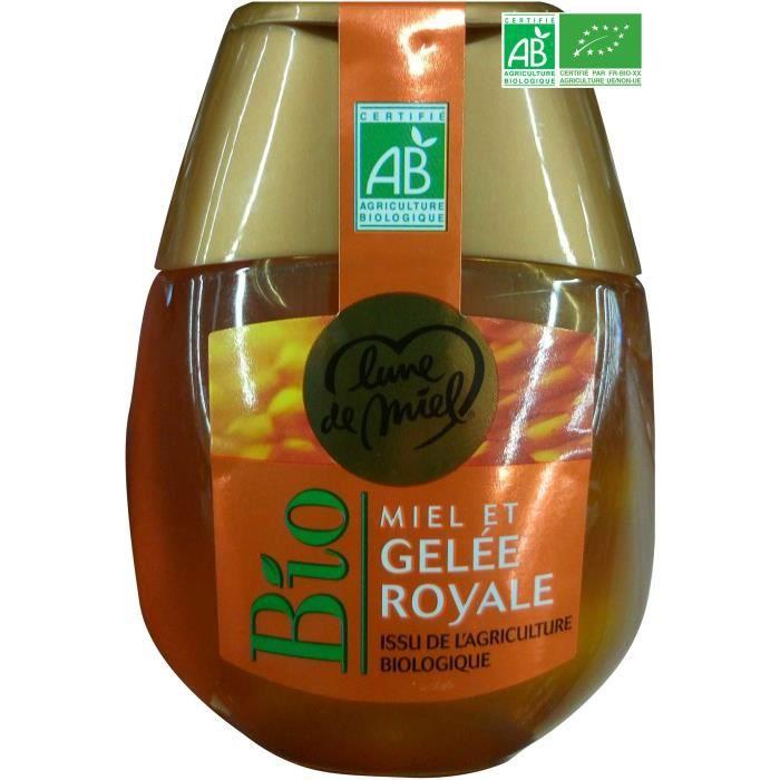 Miel et gelée royale - Avec doseur - Bio - 250g