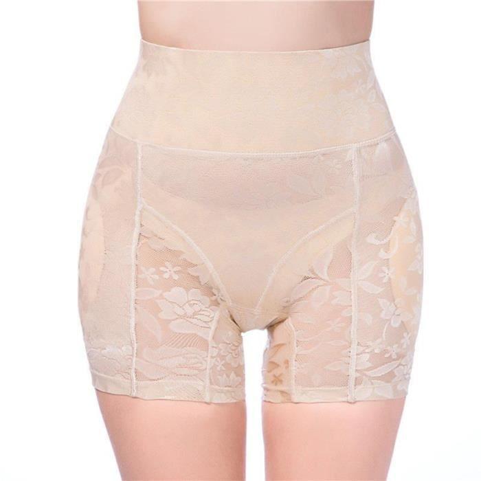 1 pc caleçon doux pratique hanche levage femmes taille haute abdomen contrôle BRASSIERE DE SPORT - SOUTIEN-GORGE DE SPORT