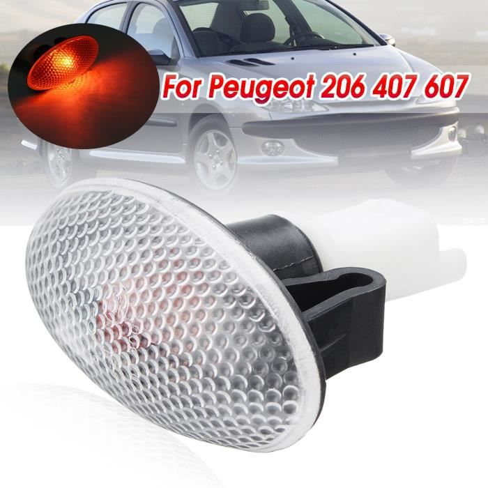 T4W 1x Feu de Position Latéral 12V 55W Pour Peugeot 206 407 607 632574