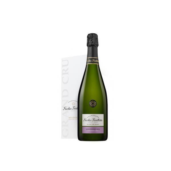 6x Nicolas Feuillatte Grand Cru Blanc de noirs - Champagne AOC - 2010