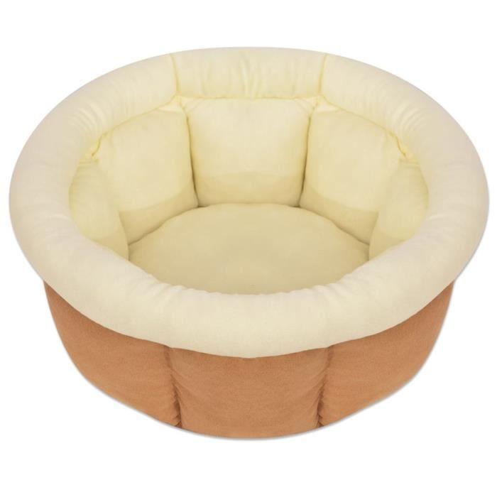 Lit pour chiens Panier confort Coussin Corbeille pour chien Taille XL Beige