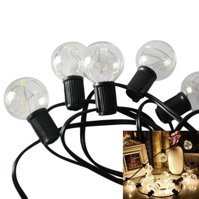 1pc utile pratique et durable Globe ampoules LED G40 guirlande lumineuse ampoule pour jardin intérieur BANDE LED - RUBAN LED