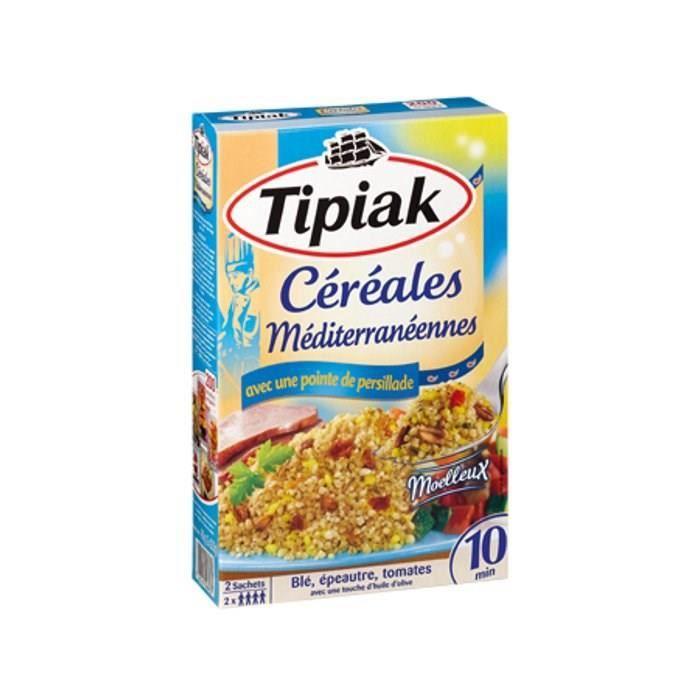 Céréales méditerranéennes 2x200g Tipiak