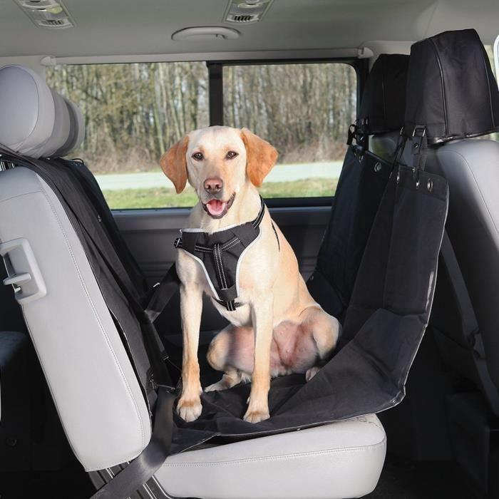TRIXIE Couverture pour sièges de voiture 1,45 × 1,60 m noir pour chien
