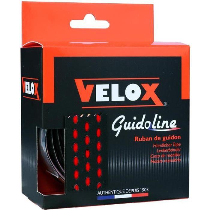 Velox - GUIDOLINE® BI-COLOR NOIR/ROUGE - Couleur:Rouge Color:Roug