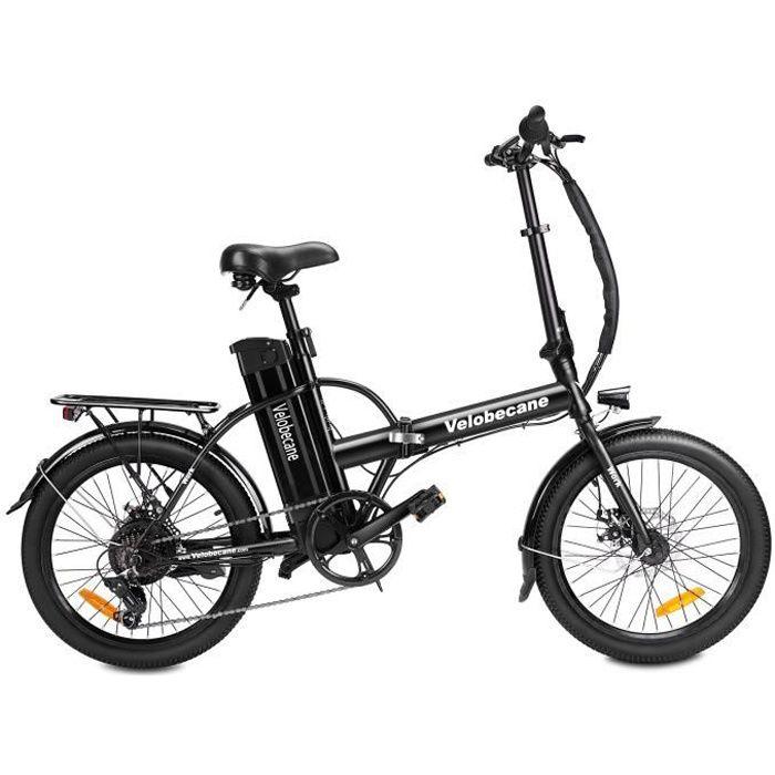 VELOBECANE Vélo électrique Work - 40km autonomie- 7 vitesses- 20 pouces