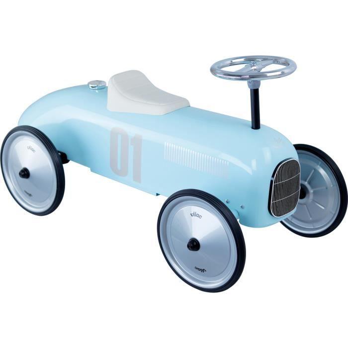 Vilac - Porteur voiture vintage bleu tendre - VILAC