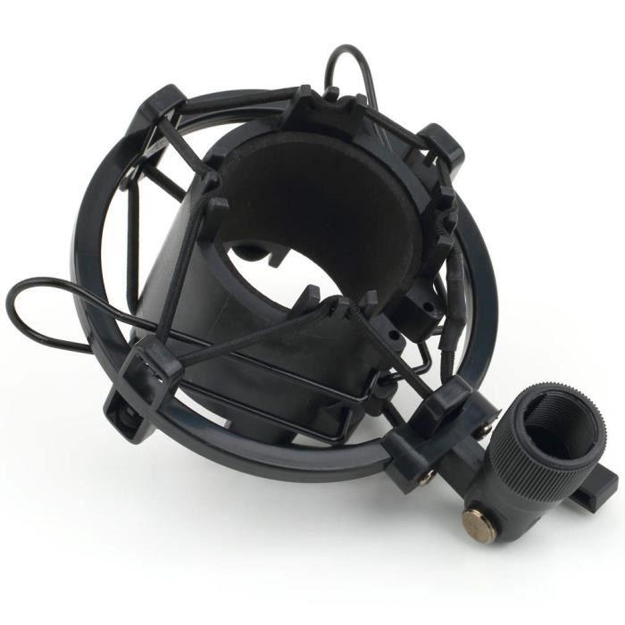 MICROPHONE - ACCESSOIRE  Support Clip Fixation Anti-Choc Microphone Univer
