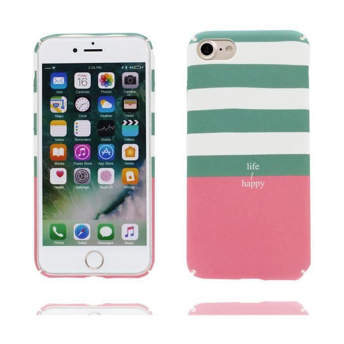 Coque iPhone 7, Imprimer lisse peau TPU souple Case Cover Shock ...