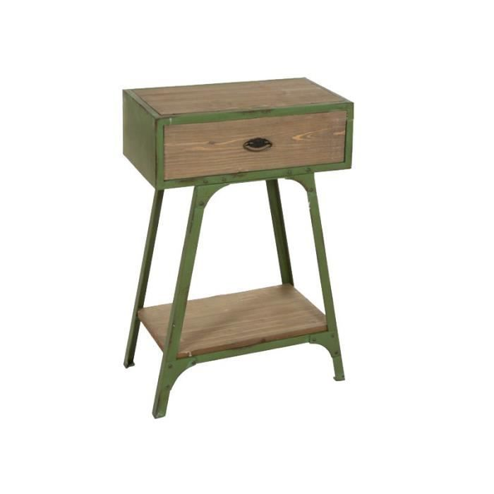 petit meuble industriel achat vente petit meuble industriel pas cher cdiscount. Black Bedroom Furniture Sets. Home Design Ideas