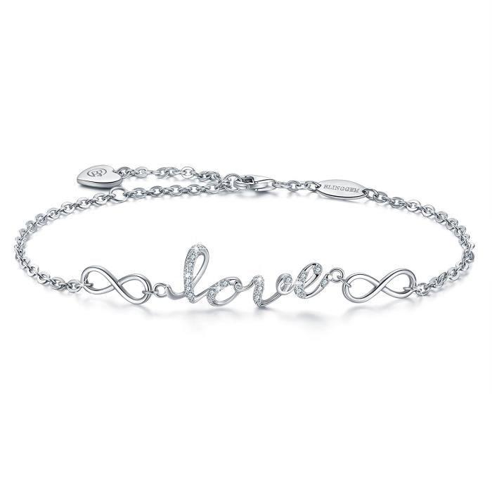 bracelet femme en argent
