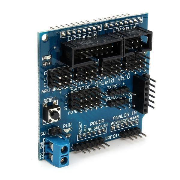 MagiDeal Carte dExtension Bouclier de Capteur Multifonction pour Nano Uno V3 Arduino 2.0 3.0