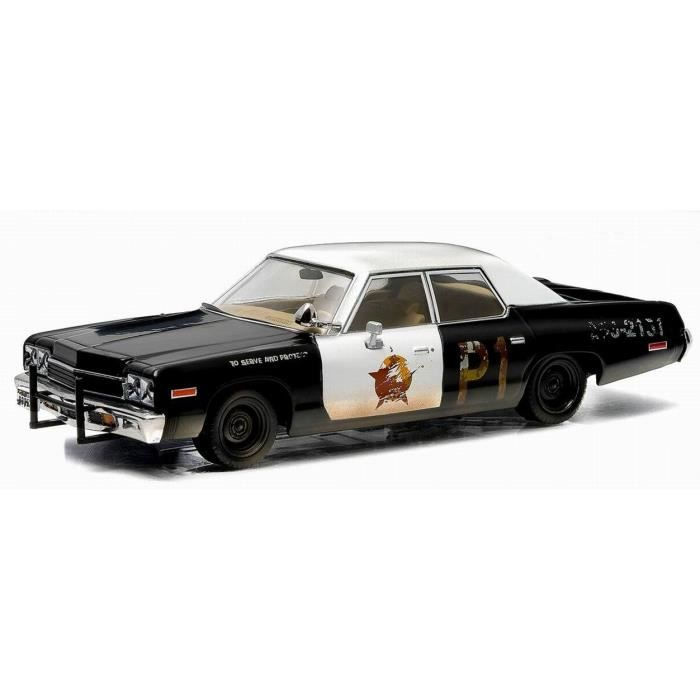 voiture dodge monaco blues brothers bluesmobile 1974 en m tal au 1 43 achat vente voiture. Black Bedroom Furniture Sets. Home Design Ideas