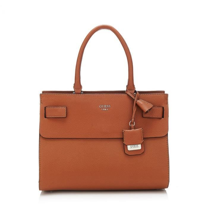 Guess Sac à main Ryann Marron HBhw5jiWkX