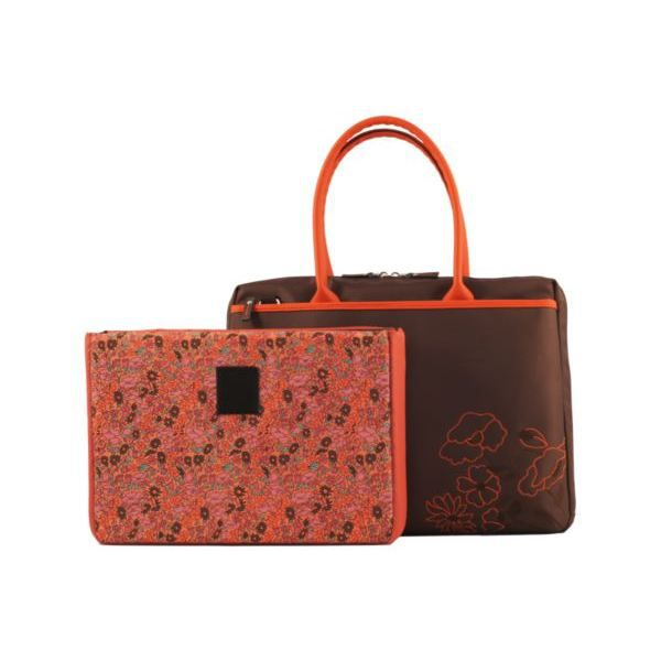 sacoche mobilis lady bag coral flower 14 achat vente. Black Bedroom Furniture Sets. Home Design Ideas