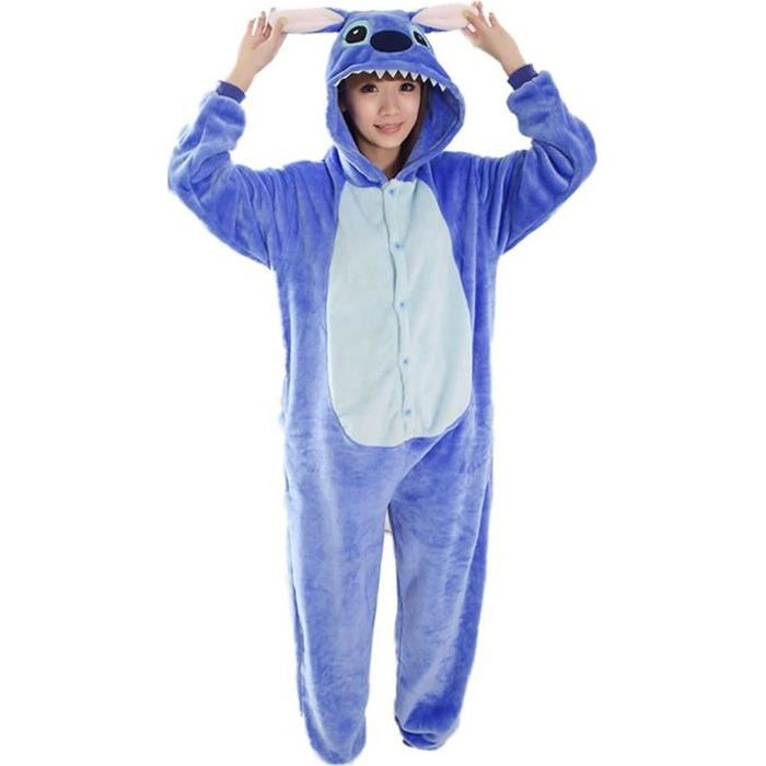 unisexe kigurumi pyjama adultes flanelle cosplay costume d guisement d 39 halloween animaux. Black Bedroom Furniture Sets. Home Design Ideas