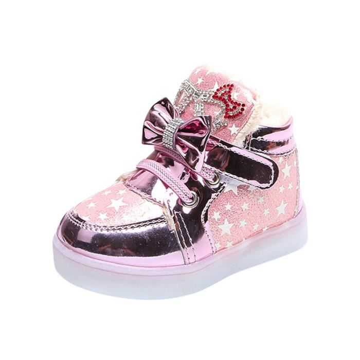 05e93ee010cae7 Chaussure lumineuse fille - Achat / Vente pas cher