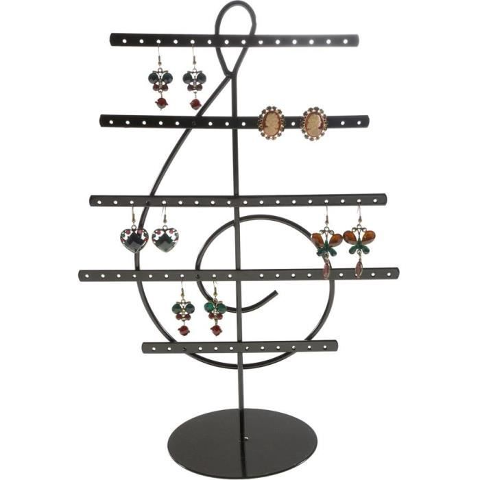 pr sentoir boucles d 39 oreilles noir achat vente pr sentoir bijoux pr sentoir boucles d. Black Bedroom Furniture Sets. Home Design Ideas